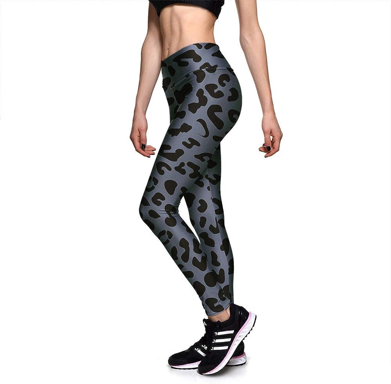 f613822a16f2 Women's Yoga Capri Pants, Women Fashion Leopard Spot Prints Stretchy ...