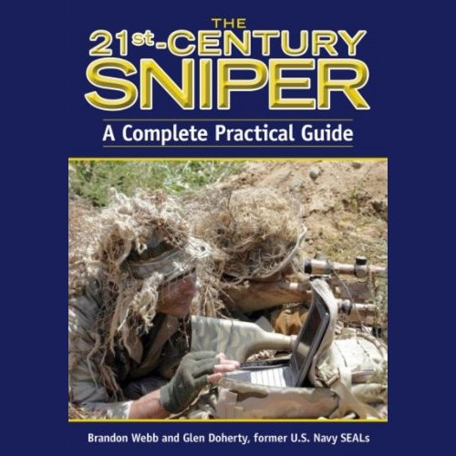 The 21st-Century Sniper audiobook cover art