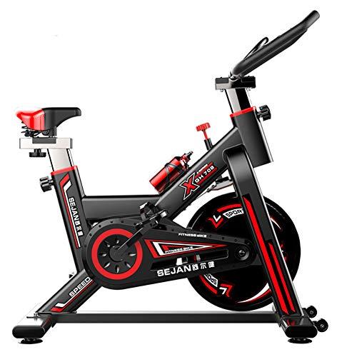 Bicicletta Spinning Cyclette Indoor con con Volano da 11Kg, Fitness Ergonomica con, Salvaspazio, Bicicletta Unisex Cyclette Aerobico, Fino A 250 kg