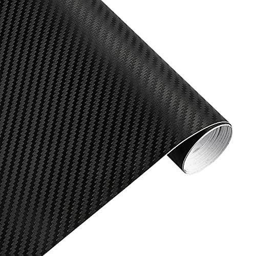 50 cm de Ancho 3D Fibra de Carbono película de Vinilo 3M...