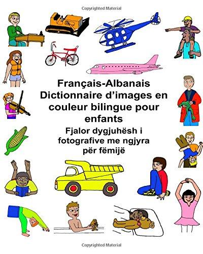 Français-Albanais Dictionnaire d'images en couleur bilingue pour enfants