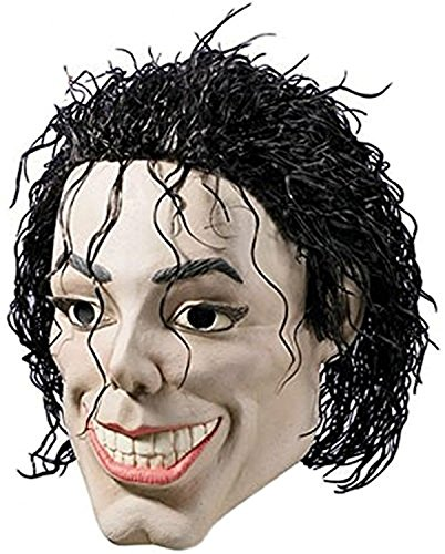 Plastic Man Vinyl Mask (Resembles Michael Jackson)
