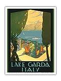 Pacifica Island Art Gardasee - Riva, Italien - Vintage