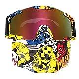 Vollmaske, Motorrad Ski Skate Sonnenbrille -