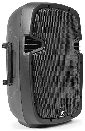 Vonyx SPJ-800A actieve speaker 400W met 10 inch woofer - Geschikt voor muziek, zang en spraak - Plug and play