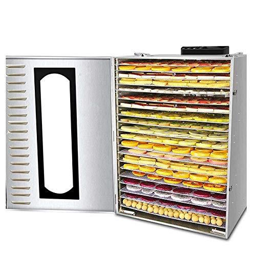 Big Save! HIZLJJ Premium Countertop Food Dehydrator 9 Drying Shelves Digital Thermostat Preset Tempe...