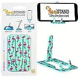 FlexiStand Mobile Phone Desk Stand Travel Portable Smart Phone Holder (Flamingo)