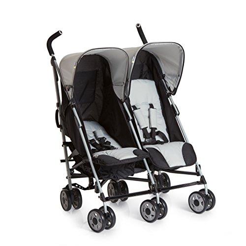 Hauck Turbo Duo - silla gemelar para gemelos y hermanos de 0 meses...
