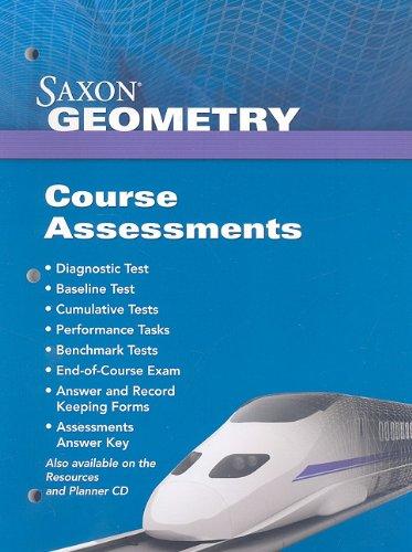 Saxon Geometry: Assessments 2009