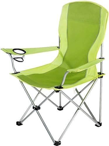 Chaise De Camping Pliable Chaise De Pêche Pliante Portable Mazar Pause Déjeuner Chaise De Plage Croquis (Couleur   A)