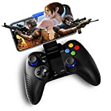 STOGA Mobile Game Controller Compatible for iPhone iOS & Android,Wireless Remote Controller with Vibration Feedback, Mobile Phone Holder