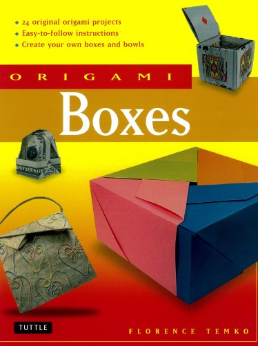 Origami Boxes: This Easy Origami Book Contains 25 Fun Projects and Origami How-to Instructions: Great for Both Kids and Adults! (English Edition)