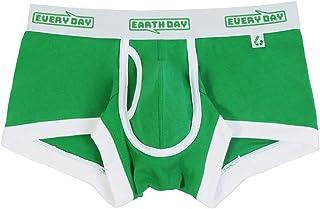 ヒーローカラーズ【EARTH-DAY EVERY-DAY】ローライズボクサーパンツ サスティナブルモデル イージーモンキーオリジナル 前開きボクサーパンツ 日本製 Made in JAPAN コットンストレッチ メンズ 男性下着