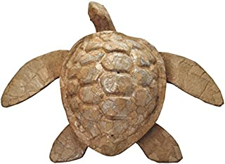 Memorial Gallery Paper Sea Turtle Biodegradable Cremation Urn (Full-Size, Natural)