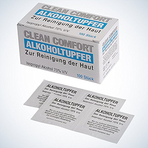 Clean Comfort Alkoholtupfer,100St