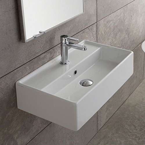 Scarabeo 5002-One Hole Teorema Rectangular Ceramic Wall...