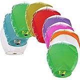 Best Sky Lanterns - Sky Lanterns 10/16-Pack Multi Color, Biodegradable, for Birthdays Review