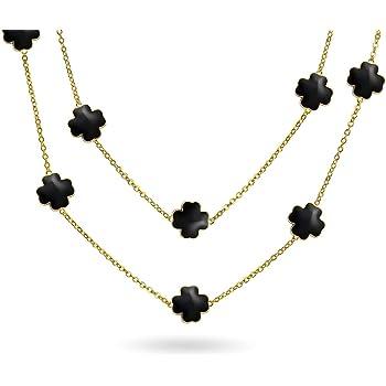 UK Ladies Designer Long Silver Large Leaf Statement Necklace Jewellery