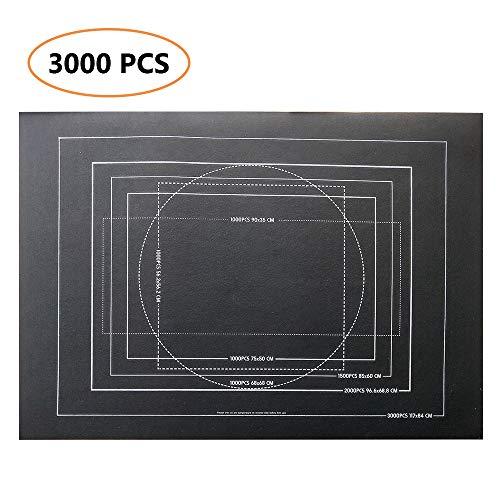 SearchI Puzzle Matte Puzzle Rollmatte, Puzzle Rollmatte Puzzle Puzzle Speicher Saver Filz Matte Decke mit Aufbewahrungtasche 1500/200/3000 PCS