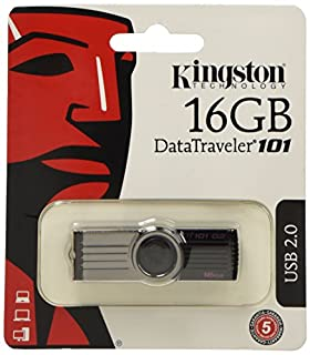 Kingston DataTraveler 101 Generación 2 DT101G2 - Memoria USB 16 GB, Negro (B003MWJKVI) | Amazon price tracker / tracking, Amazon price history charts, Amazon price watches, Amazon price drop alerts