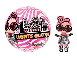 L.O.L. Surprise! Lights Glitter Doll with 8 Surprises Including Black Light Surprises (B07XSPCBVP) | Amazon price tracker / tracking, Amazon price history charts, Amazon price watches, Amazon price drop alerts