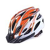 QYWSJ Casco de Ciclo Ligero para Seguridad En Bicicleta, Casco de Bicicleta para Adultos, Ajustable Unisex Hombres Mujeres, con CertificacióN Cpsc para ProteccióN de Seguridad 57-63