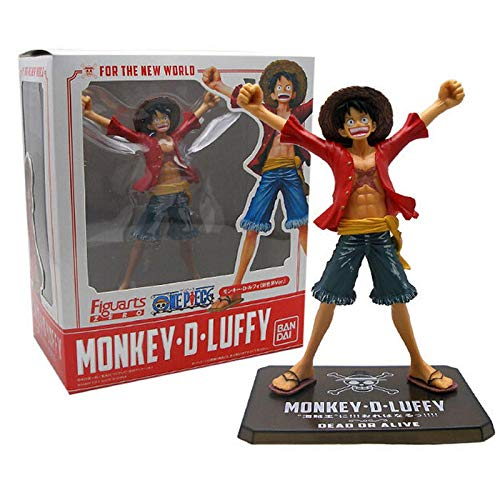 17Cm Figuarts Zero Bandai Japan Anime One Piece Monkey D Luffy, Action Figure Onepiece PVC Figuras Onepiece One-Piece Toys Gifts