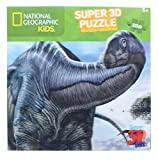NATIONAL GEOGRAPHIC Kids Argentinosaurus 150 Piece Super 3D Jigsaw Puzzle