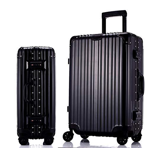 Equipaje Esencial para Viajes A Casa, Maleta con Ruedas, Maleta Universal con Ruedas para Hombres Y Mujeres, Equipaje De Viaje con Caja De Contraseña