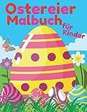 Ostereier Malbuch Für Kinder: Ostern Malbuch Osterkorb