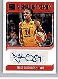 2019 Donruss WNBA Signature Series #4 Tamika Catchings Auto Indiana Fever Official Panini Basketball Card