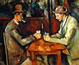 Kunstdruck/Poster: Paul Cézanne Die Kartenspieler -