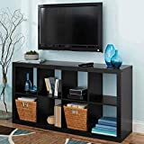 Better Homes and Gardens.. Bookshelf Square Storage Cabinet 4-Cube Organizer (Weathered) (White, 4-Cube) (Solid Black, 8-Cube)