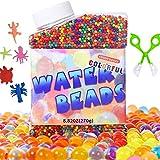 JMBF Color de Perlas de Agua Perlas de Cristal Ecológicas Ocean Baby Es Adecuado para Acuarios de Dormitorio de Bodas con Siete Colores del Arco Iris y Más de 50000 Perlas
