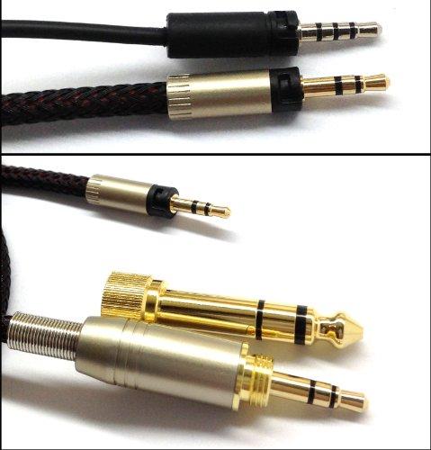 1.5m neuen Ersatz Audio Upgrade Kabel für Sennheiser Momentum Over-Ear-On-Ear-Kopfhörer