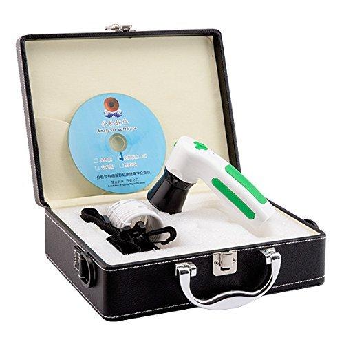 Iriscope High Resolution CCD USB - Diagnose Okular Kamera mit 12MP HD 30x Linse und Analyse-Software ohne Treiber (12 MP) von Emperor of Gadgets