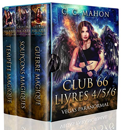 Club 66 - Livres 4/5/6: Vegas Paranormal (Club 66 Omnibus t. 2) (French Edition)