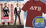 Neighbors Blu-Ray / DVD Combo Pack Limted Edition Gift Set with T-Shirt