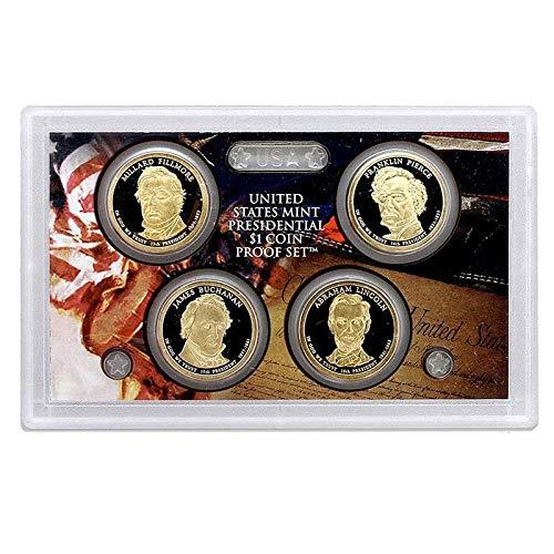 2010 S Presidential 4 Coin Proof Set No Box or CoA Proof Coin Box Coa No Coins