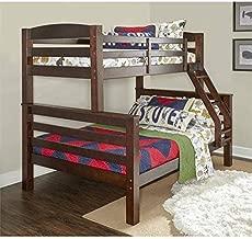 Powell Bunk Bed, Twin/Full, Espresso
