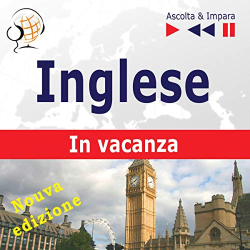 Couverture de Inglese. In vacanza