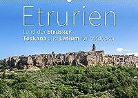 Etrurien: Land der Etrusker - Toskana und Latium fuer Entdecker (Wandkalender 2022 DIN A2 quer): Ein besonderes Stueck Italien (Monatskalender, 14 Seiten )