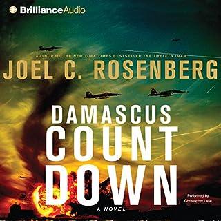 Damascus Countdown audiobook cover art