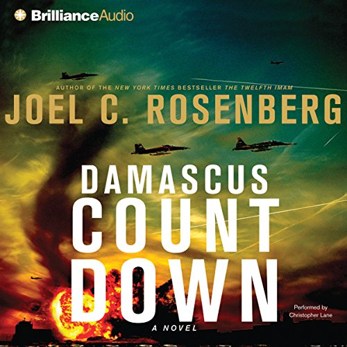 Damascus Countdown audiobook cover art