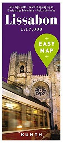 EASY MAP Lissabon: 1:17.000