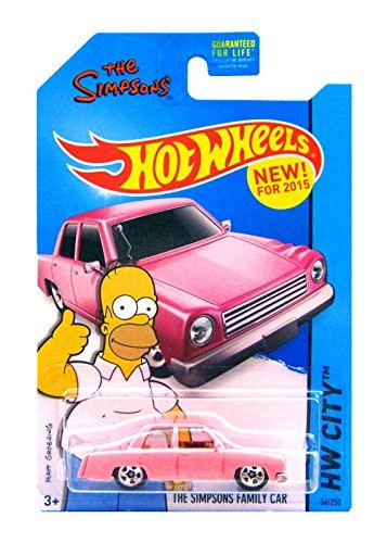 Hot Wheels - The Simpsons Family Car (Long Card) by Hot Wheels