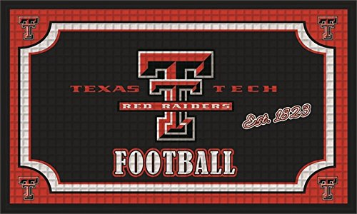 Team Sports America Collegiate Texas Tech University Embossed Outdoor-Safe Mat - 30