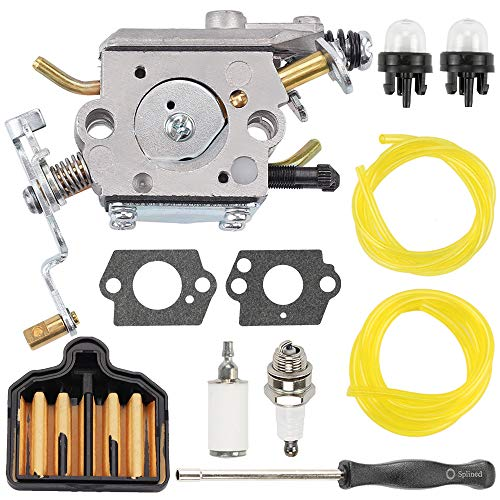 Savior 573952201 PP5020AV Carburetor for Zama C1M-W47 Poulan Pro PP5020 PP5020AVX 2 Stroke PP4818A Gas Chainsaw Parts 573 95 22-01 Craftsman 358.350980 358.350981 358.350982