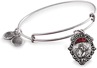 Alex and Ani Cruella De Vil Bangle Bracelet Disney Villains Silver