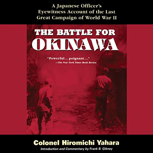 The Battle for Okinawa audiobook cover art